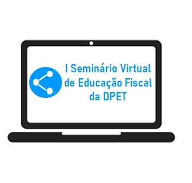 imagem ilustrativa do seminário virtual de educação fiscal